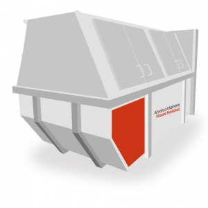 Afvalcontainers Noord Holland Container huren 10m3 gesloten