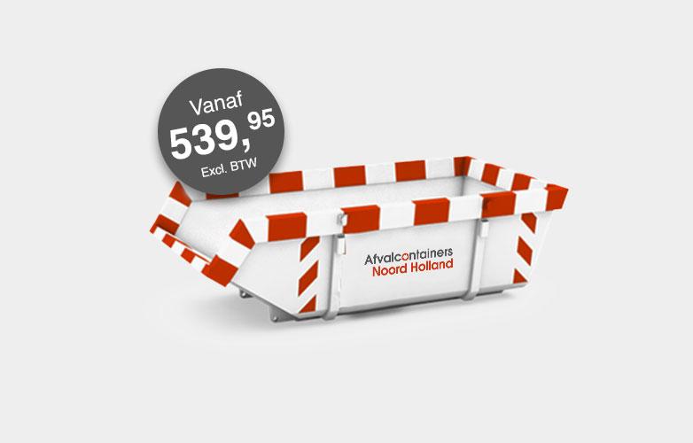 Afvalcontainers Noord Holland Dakafval container huren vanaf 340