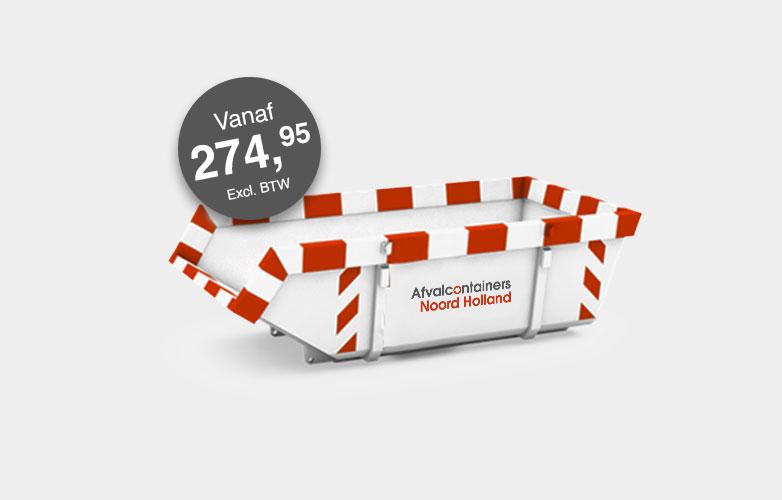 Afvalcontainers Noord Holland Grondcontainer Vervuild PFOA huren vanaf 303,95